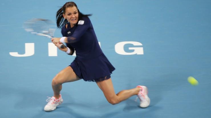Radwańska w półfinale turnieju w Tiencinie