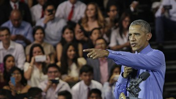 20-11-2016 06:49 Obama broni Trumpa i przestrzega przed pospiesznym osądem