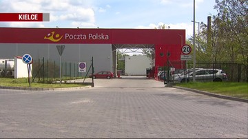 Brutalny atak na poczcie w Kielcach