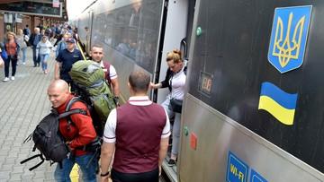 """Pierwszy """"bezwizowy"""" pociąg przyjechał z Kijowa do Przemyśla. Ukraińcy korzystają z liberalizacji przepisów"""