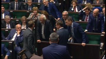 """10-11-2017 11:27 Awantura w Sejmie. Nitras twierdzi, że Terlecki nazwał go """"pajacem"""""""