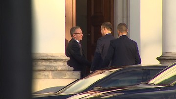Spotkanie prezydenta Dudy z prezesem PiS. Na prośbę Kaczyńskiego