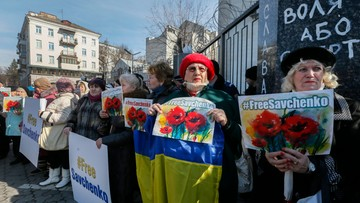 09-03-2016 13:35 Niemiecki rząd do władz Rosji: natychmiast uwolnijcie Sawczenko