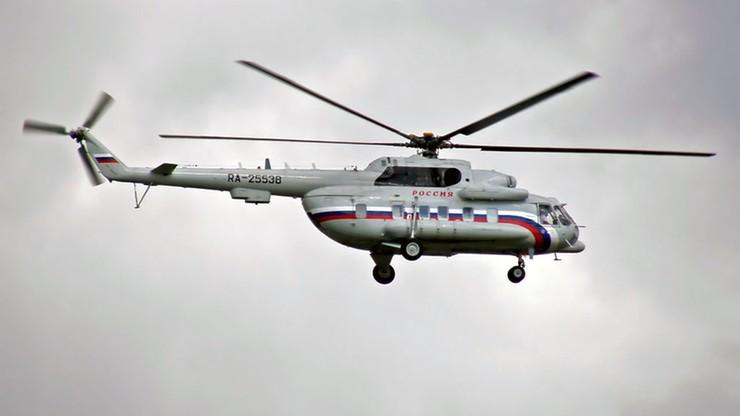 Pod Moskwą rozbił się śmigłowiec ratowniczy, załoga zginęła