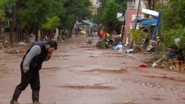 Już 20 ofiar śmiertelnych powodzi w Grecji