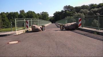 Barykadują most na polsko-niemieckiej granicy. Przez złodziejów samochodów