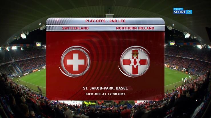 Szwajcaria - Irlandia Północna 0:0. Skrót meczu