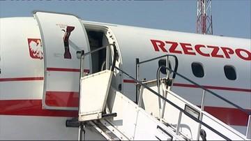 Zgodnie z procedurami, była zgoda na zmiany na pokładzie - kancelaria premiera ws. lotu z Londynu