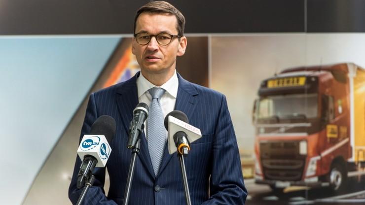 Morawiecki: ograniczenia nie służą gospodarce