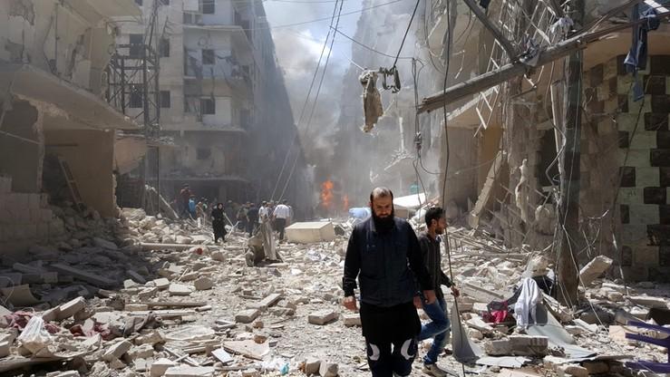 USA i ONZ potępiają naloty na szpital w Aleppo. Rosja zaprzecza, że to jej atak