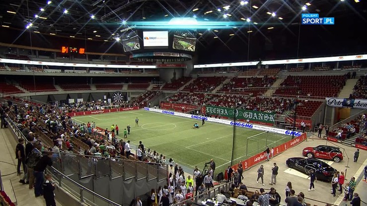 Amber Cup: Fabryka Futbolu - Lechia Gdańsk 6:4. Skrót meczu o III miejsce