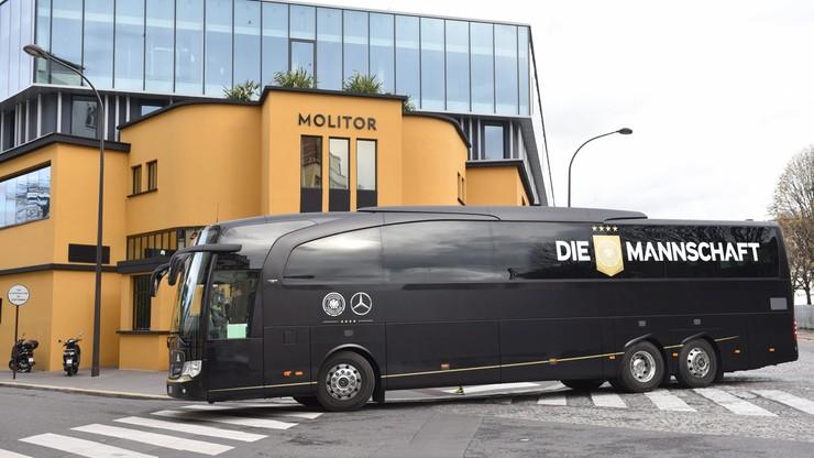 Niemieccy piłkarze ewakuowani. Alarm bombowy w hotelu