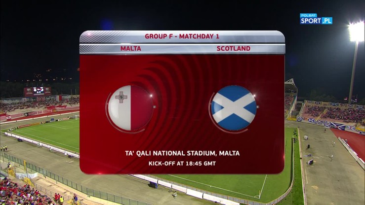 2016-09-04 Malta - Szkocja 1:5. Skrót meczu