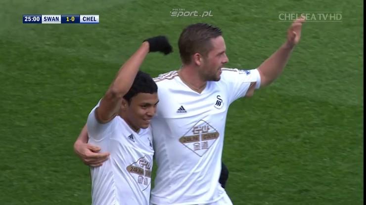 Jak Sigurdsson pokonał Chelsea. Piękny gol Islandczyka!