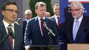 """04-09-2016 20:53 Ziobro, Błaszczak i Waszczykowski jadą do Londynu rozmawiać o atakach na Polaków. """"Wylot możliwy w poniedziałek"""""""