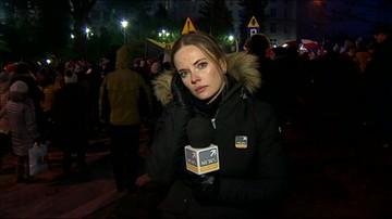 Relacja z manifestacji przed Sejmem
