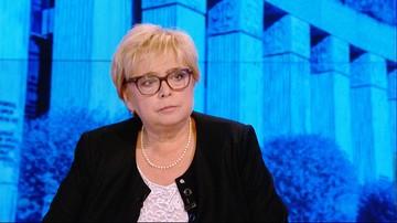 Małgorzata Gersdorf o projekcie ustawy ws. SN