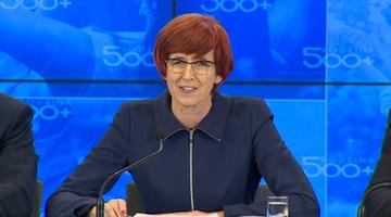 """02-02-2016 11:25 Rafalska: program 500+ na najbliższym posiedzeniu Sejmu. """"Będzie podręcznik dla samorządów"""""""