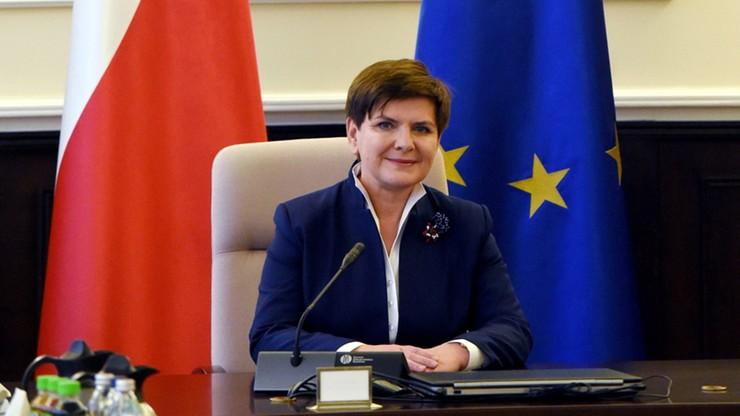 Premier Beata Szydło wygłosi expose w środę