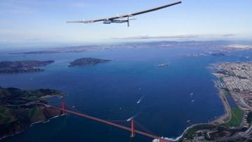 24-04-2016 06:13 Samolotem solarnym nad mostem Golden Gate
