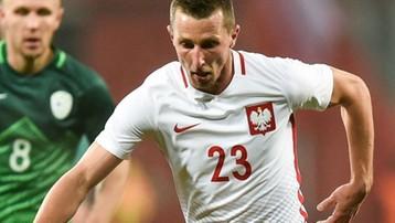 2017-09-20 Gol i asysta Wilczka w meczu z czwartoligowcem