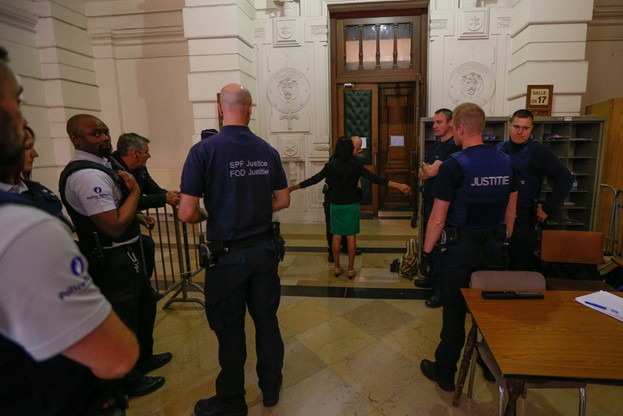 Ruszył proces podejrzanych o terroryzm, zatrzymanych w belgijskim Verviers