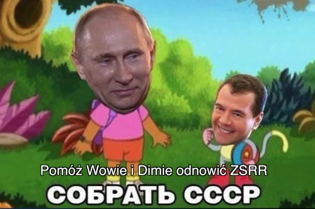 Putin cenzuruje internet. Internet bez memów z rosyjskim przywódcą