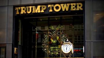 28-12-2016 05:23 Ewakuowano wieżowiec Trumpa przez podejrzany plecak. W środku były zabawki