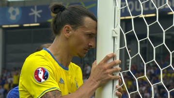 Zlatan przebił Milika! Szwed zaliczył pudło Euro 2016 (WIDEO)