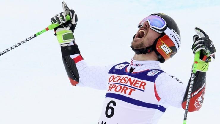 Alpejski PŚ: Hirscher liderem na półmetku slalomu w Madonna di Campiglio