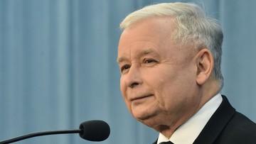 """17-05-2016 19:56 Kaczyński: na Clintona być może wpływa """"sytuacja gigantycznego nieporozumienia"""""""