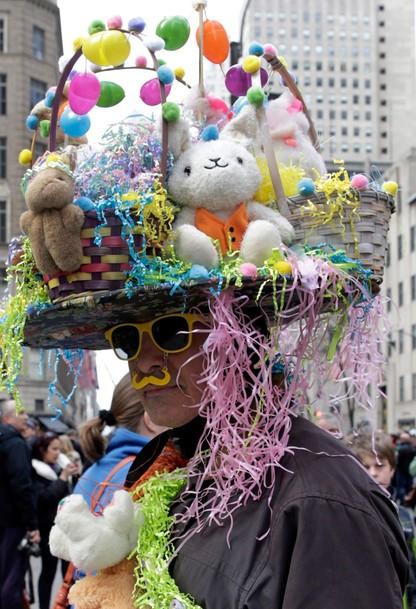 Wielkanocna parada i festiwal kapeluszy w Nowym Jorku