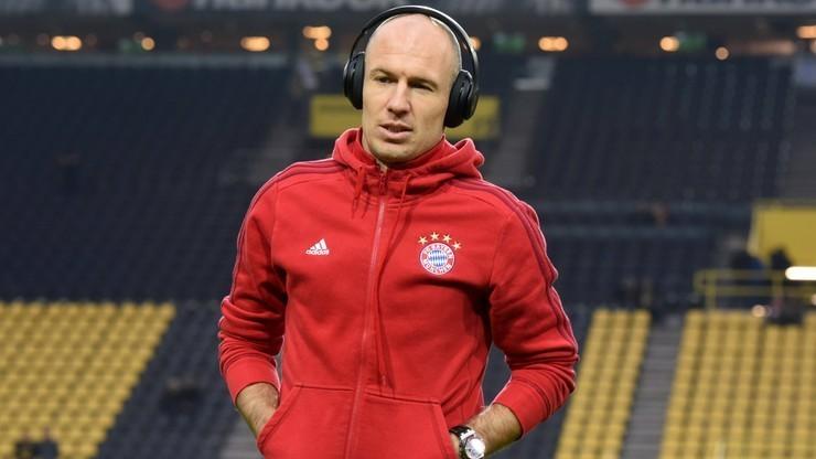Robben przedłużył kontrakt z Bayernem Monachium