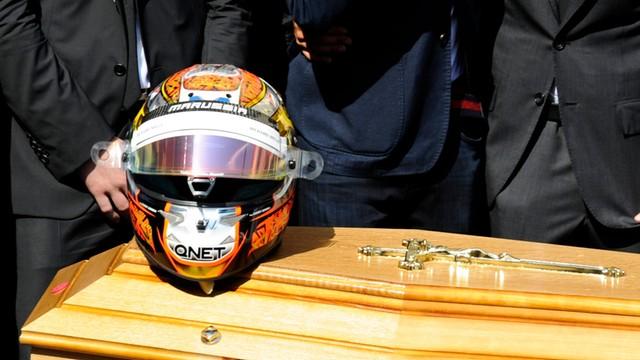 Formuła 1: Jules Bianchi spoczął w Nicei