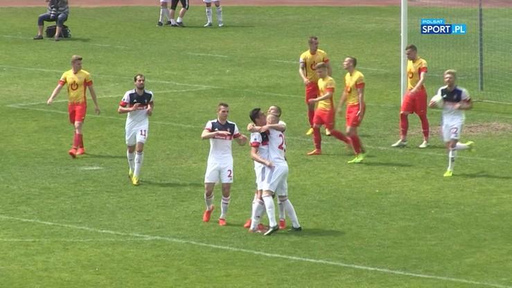 Znicz Pruszków - Górnik Zabrze 1:2. Skrót meczu