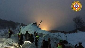 23-01-2017 14:42 Hotel we Włoszech, na który zeszła lawina, był zbudowany na resztkach skalnych