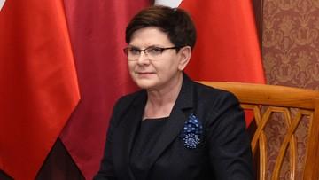 """08-05-2017 09:56 Szydło pogratulowała Macronowi. """"Liczę, że pana prezydentura przyniesie nowe otwarcie w naszych relacjach"""""""