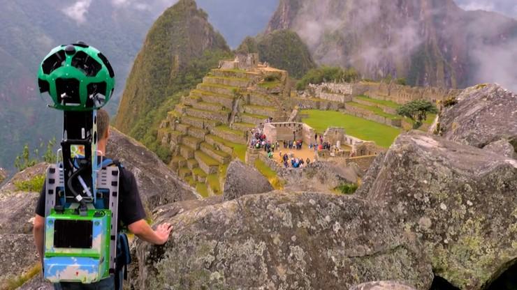 Nie odwiedziłeś Machu Picchu? To włącz Street View
