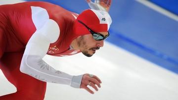 2017-03-11 PŚ w łyżwiarstwie szybkim: Siódme miejsce Wasia, ósme Czerwonki w Stavanger
