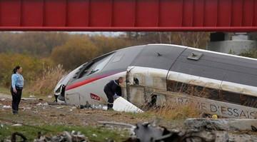 Francja: wykoleił się pociąg TGV. Nie żyje 10 osób