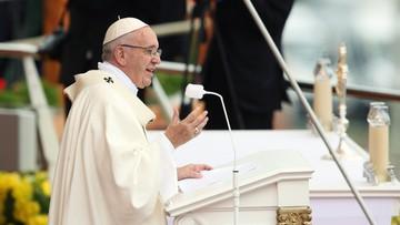 28-07-2016 10:59 Papież: pragnienie władzy i sławy jest rzeczą tragicznie ludzką