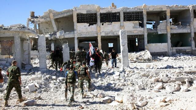 Obama i Merkel potępili barbarzyńskie naloty na Aleppo