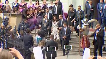Oficjalne powitanie Williama i Kate w Gdańsku