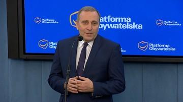 """01-04-2016 11:15 Schetyna: zaangażowanie prokuratury m.in ws. prezesa TK """"ponadstandardowe"""""""