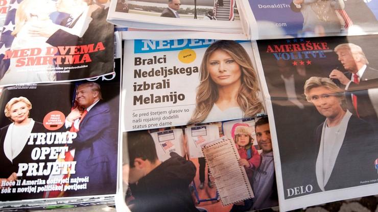 Premier Słowenii zaprosił Melanię Trump do odwiedzenia ojczyzny