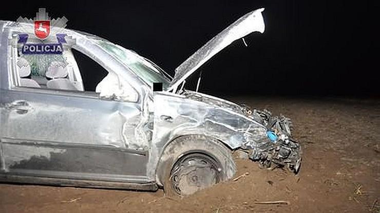 Znowu strzały do kierowcy. Pijany roztrzaskał radiowóz