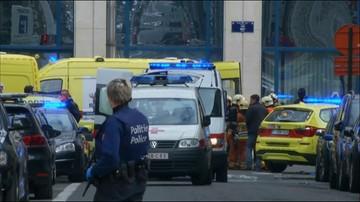 22-03-2016 10:33 Wybuchy na stacjach metra w Brukseli. Sprzeczne informacje o ofiarach