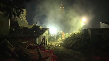 Katatrofa budowalna w Świebodzicach. Materiał