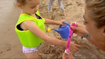 05-07-2016 17:31 Idziesz z dzieckiem na plażę - pamiętaj o opasce dla niego