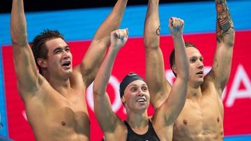 2017-07-29 MŚ w pływaniu: Amerykanie ustanowili rekord świata w sztafecie mieszanej